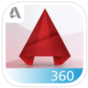 Apps d'Ipad per treballar: AutoCAD 360