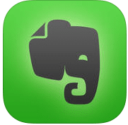 Apps de Ipad para trabajar: Evernote