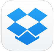 Apps de Ipad para trabajar: Dropbox