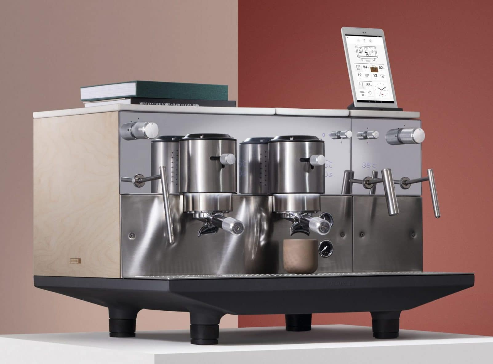 Iberital has achieved with the app created by app2U full real-time control of your espresso machine