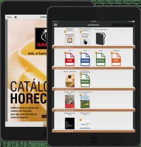 Con la app Gestión Documental controlarás tus documentos confidenciales y los protegerás a la vez que los distribuyes con los comerciales de la empresa para que los utilicen durante su discurso comercial reforzando los argumentos de venta